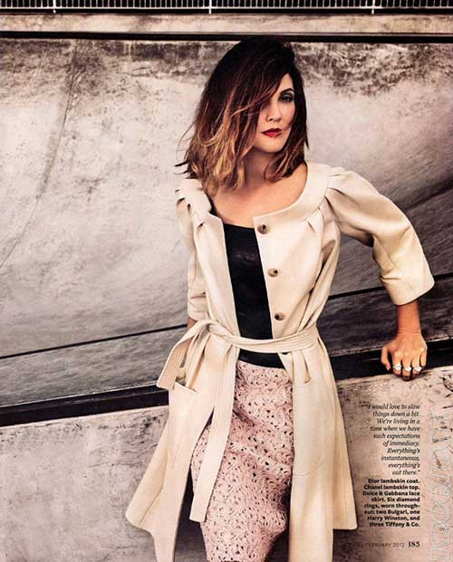 Drew Barrymore Style Hair Color