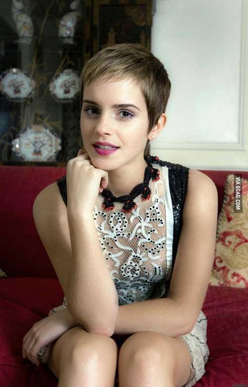 Emma Watson Pixie Hair