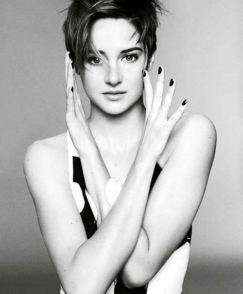 Shailene Woodley Short Hair