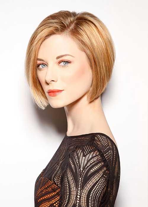 Fine Blonde Bob Haircuts