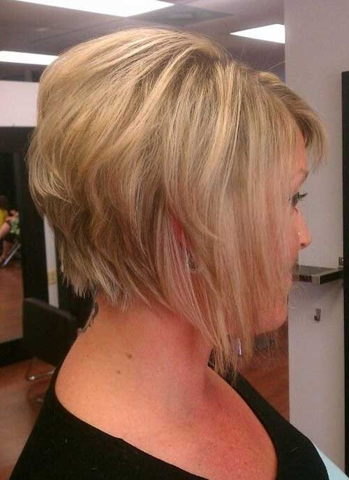 Best Graduated Fine Bob Hairstyles