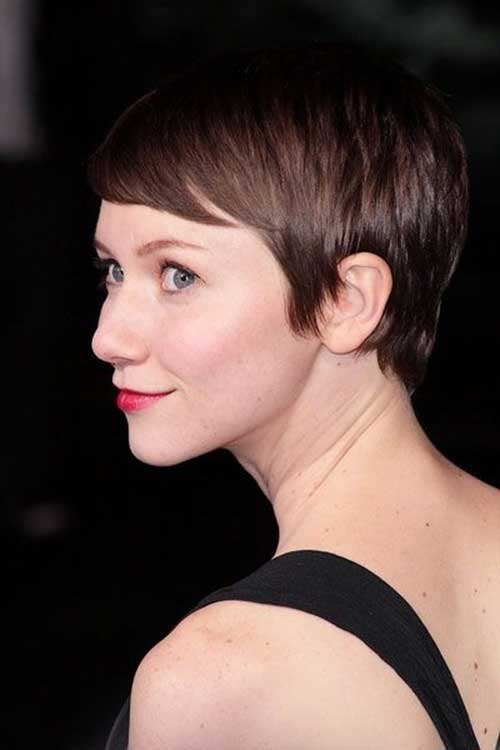 Straight Fine Short Pixie Cuts 2015
