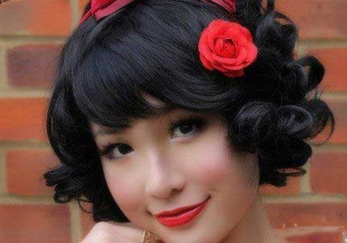 Best Funky Short Curly Hairstyles for Girls