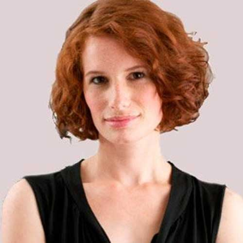 Nice Ginger Short Curly Hairstyles