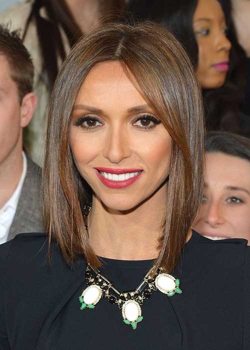 Giuliana Rancic Fine Hair Bob