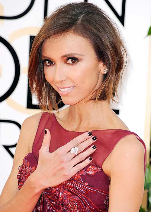 Giuliana Rancic Short Hair
