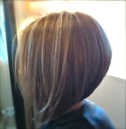 Simple Graduated and Stacked Bob Hairstyles
