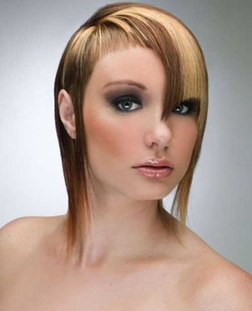 Two Tone Hair Color For Short Hair Short Hairstyles 2017 2018