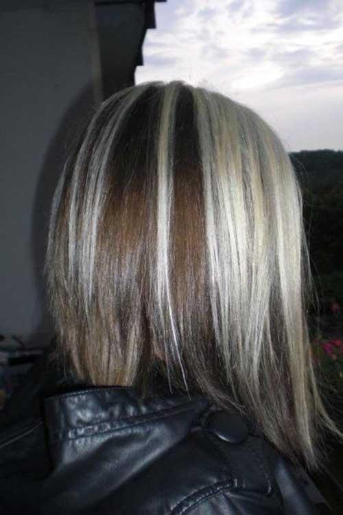 Dark Hair Colours for Short Hair
