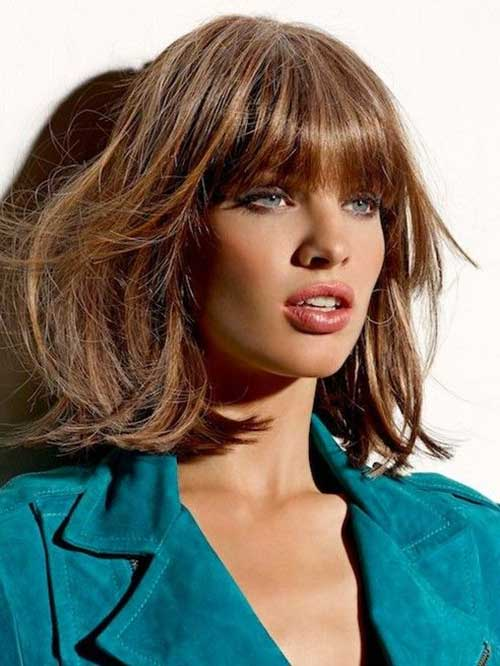 Short Hairstyles with Bangs for 2014