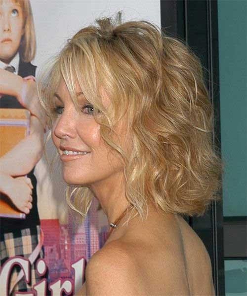Heather Locklear Beachy Wavy Hair