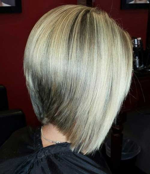 Highlighted and Graduated Bob Hairstyles