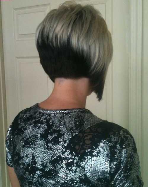 concave bob back view of stacked bob haircut trendy 25 short inverted bob hairstyles