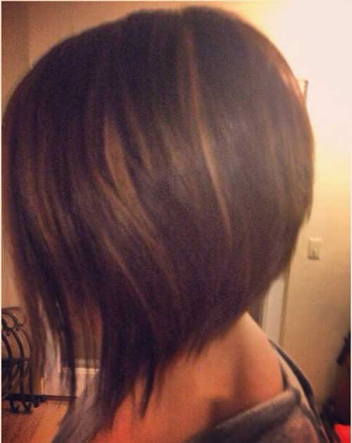 Lovely Inverted Bob with Highlights