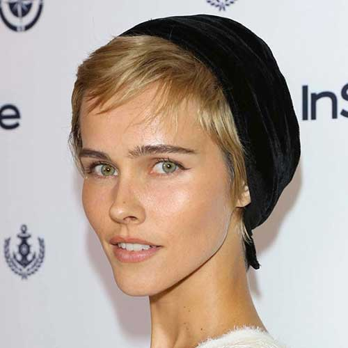 Isabel Lucas Hairstyles 2014-2015