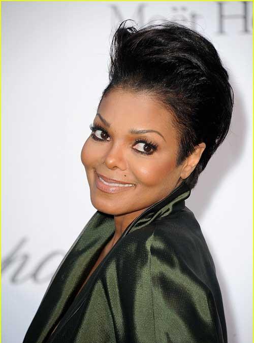 Janet Jackson Pixie Hair