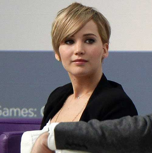 Jennifer Lawrence's Best Pixie Hairstyles