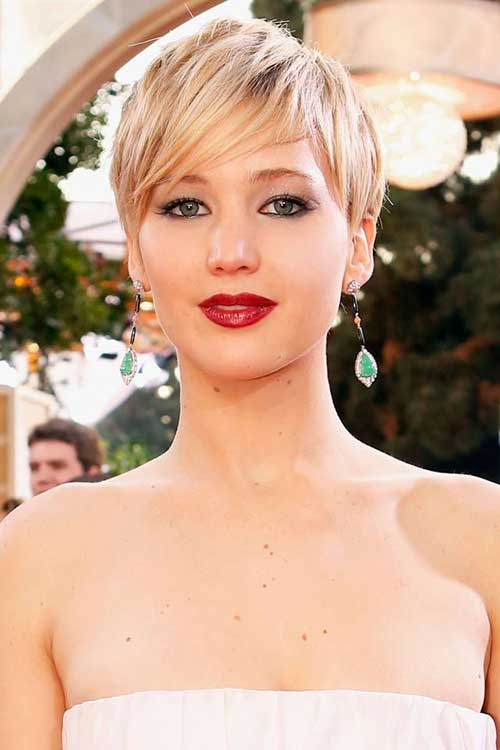 Jennifer Lawrence Pixie Trend for 2015