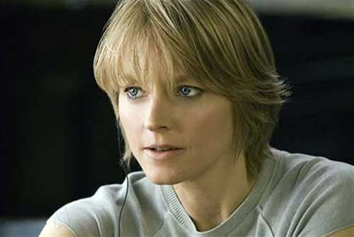 Jodie Foster Short Hair