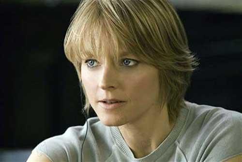 Jodie Foster Short Hair
