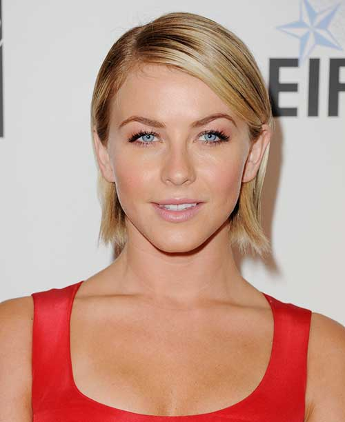 Julianne Hough Straight Modern Hair