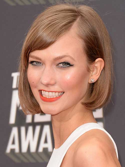 Karlie Kloss Short Haircut Bob Hairstyle