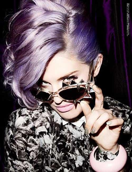 Kelly Osbourne Lavender Hair Color