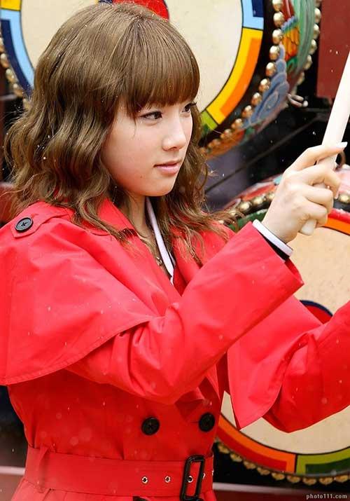 Kim Taeyeon Wavy Hair