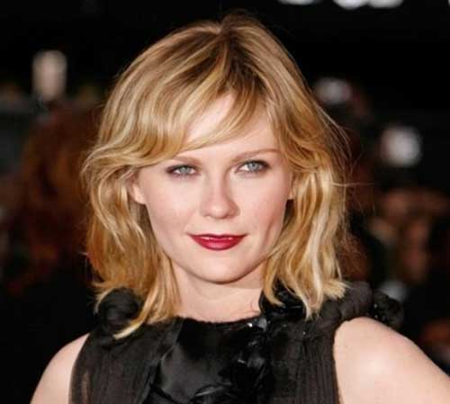 Short Wavy Hairstyles For Round Faces Short Hairstyles