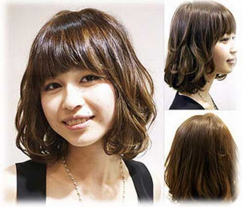 Cute Korean Short Hairstyle