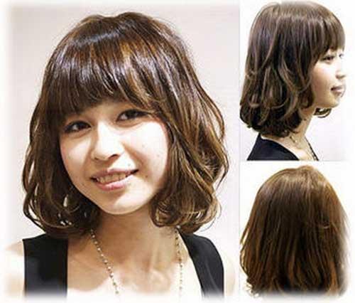 Cute Korean Short Hairstyle