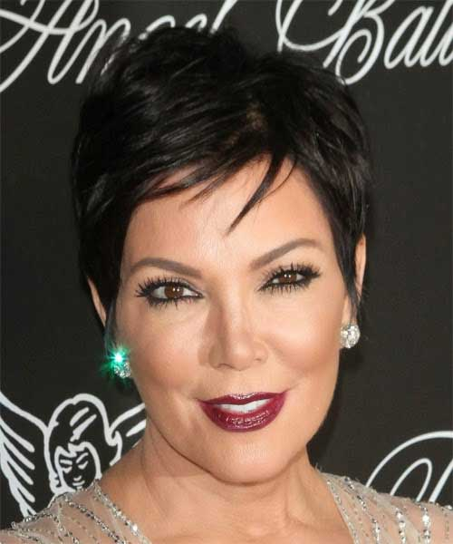 Kris Jenner Straight Hairstyles