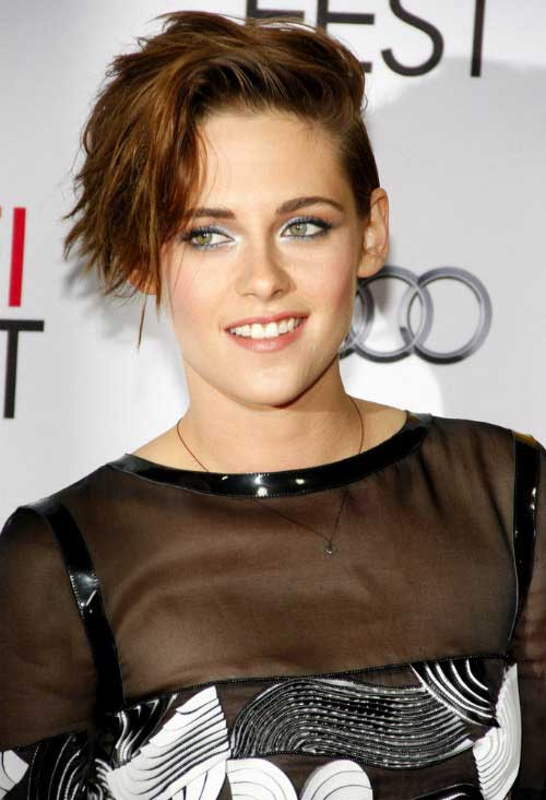 Female Celebrity Short Haircuts 2014 2015