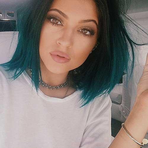 Kylie Jenner Bob Hair Pics