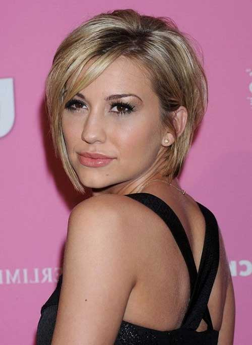Trendy Layered Graduated Bob Haircut