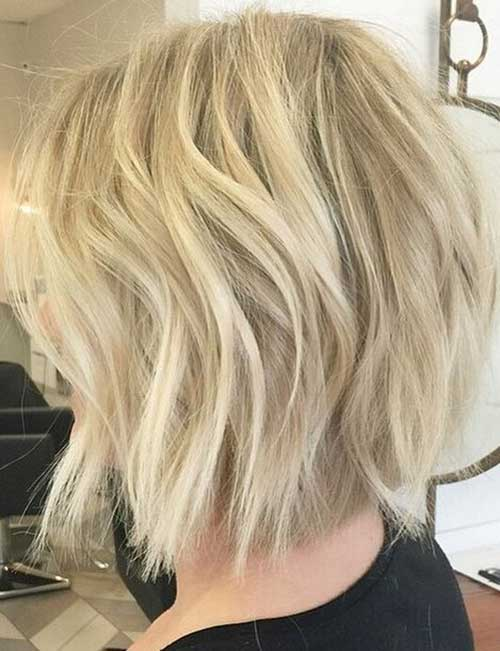 Light Blonde Bob Trends