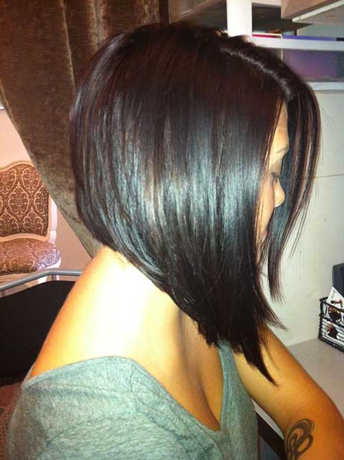 Long Aline Layered Bob