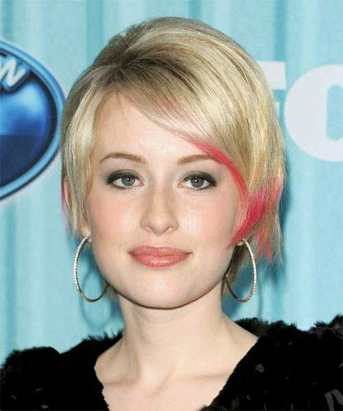 Long Pixie Hairstyle for Round Face