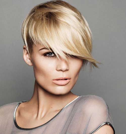 Long Side Pixie Haircuts