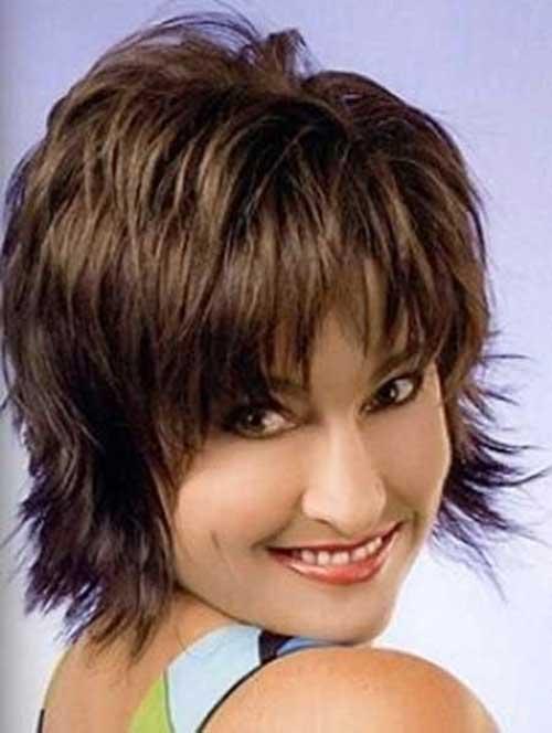 Best Lovely Short Shaggy Haircut