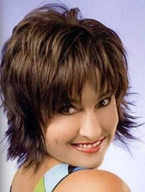 Remarkable 30 Short Shaggy Haircuts Short Hairstyles 2016 2017 Most Hairstyle Inspiration Daily Dogsangcom