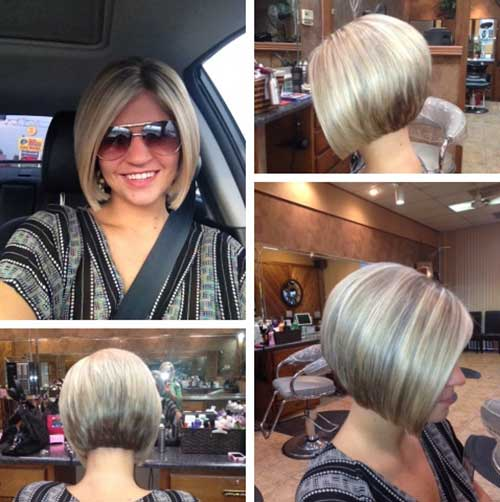 Excellent 25 Short Inverted Bob Hairstyles Short Hairstyles 2016 2017 Short Hairstyles Gunalazisus