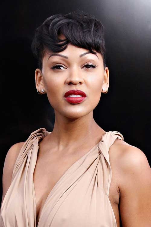 Meagan Good's Short Pixie Hairstyles