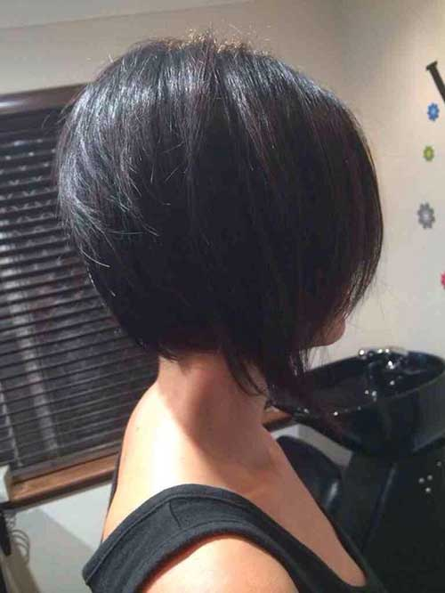 Outstanding 25 Short Inverted Bob Hairstyles Short Hairstyles 2016 2017 Hairstyle Inspiration Daily Dogsangcom