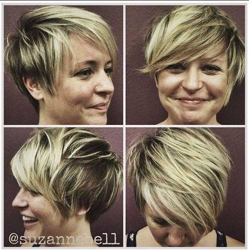 Messy and Sassy Layered Hairstyle