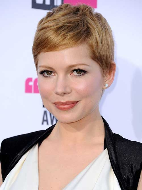 Michelle Williams Short Pixie Haircuts