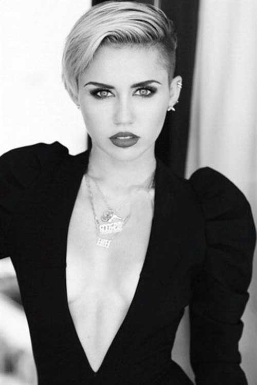 Miley Cyrus's Pixie Hair