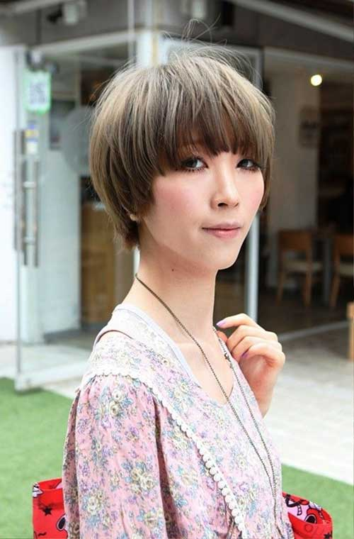 Nice Korean Short Hair