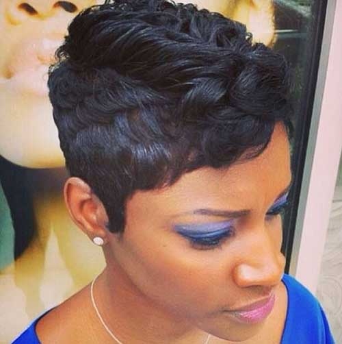 Fantastic 20 Short Pixie Haircuts For Black Women Short Hairstyles 2016 Hairstyle Inspiration Daily Dogsangcom