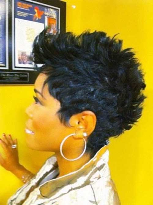 Amazing Mohawk Short Hairstyles For Black Women Short Hairstyles 2016 Hairstyle Inspiration Daily Dogsangcom